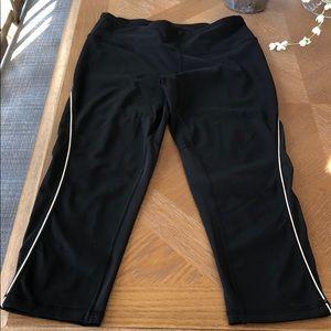 Victoria Secret Sport Black mesh legging